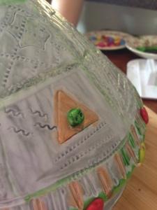 UFO alien close up
