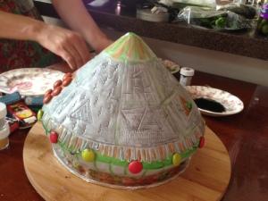 ufo cake 1