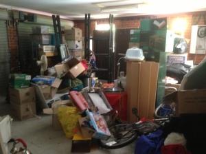 garage mess