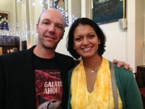 Alan Baxter and Rochelle Fernandez