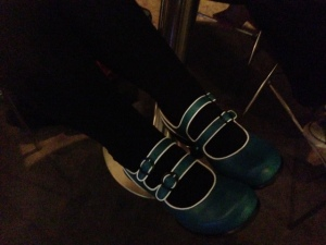 Liz Grzyb's shoes, Fluevogs