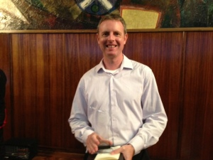 Mitchell Hogan, Aurealis Awards, April 2014