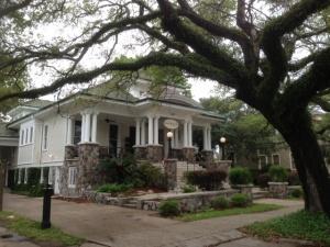 Canal Street Inn, New Orleans, the parlour
