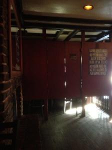 Poker machine cubicles, Flannagan's Pub, French Quarter