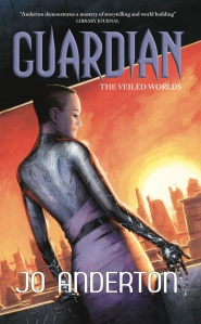 Cover image of Guardian by Jo Anderton