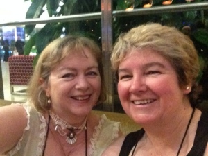 Me and Nicole Murphy, RWAus14