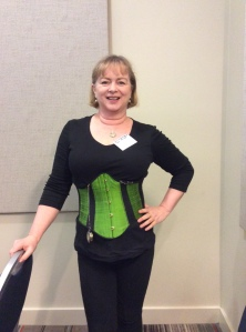 Donna Maree Hanson, underbust corset, RWAus13