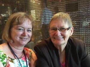 Me and Glenda Larke