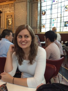 Kimberley Gaal, V&A tea room, August 2014