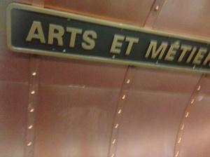Art de Metiers metromstation