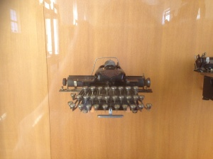 1895 typewriter, Art de Métier