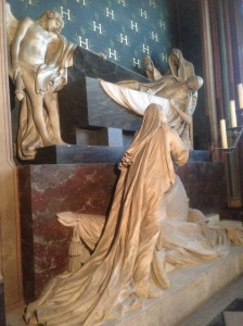 Death taking Jesus, Notre Dame