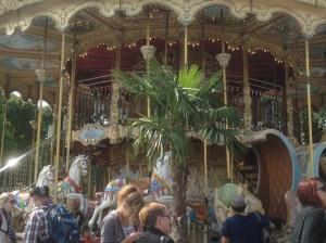 Two storey carousel