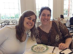 The lovely girls, Kimberley Gaal and Shauna O'Meara