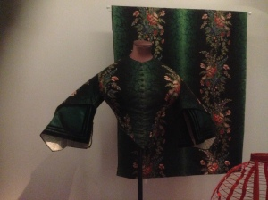 Top and fabric for dress, Victorian era V&A