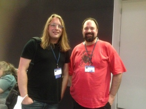 Scott Lynch and Matthew Farrer, Loncon3