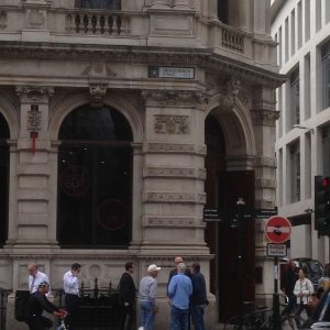 Gracechurch Street, Cheapside, London, August 2014