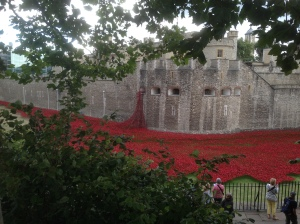 Tower of London, exterior, taken August 2014