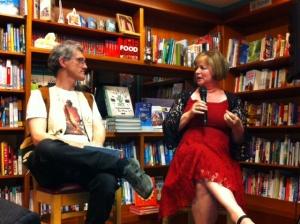 Craig Cormick interviewing Donna Maree Hanson