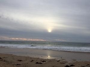 Sunset Halls Head Beach. WA