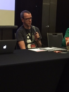 Keith Stevenson on the climate science fiction panel