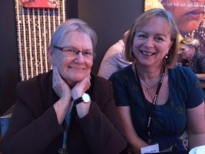 Glenda Larke and me
