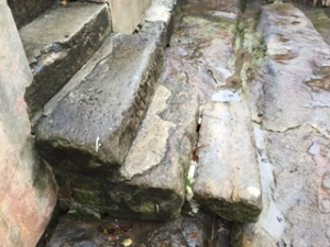 Convict hewn step, The Rocks