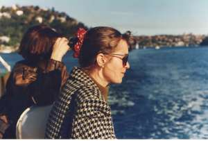 Sonia and me on a Sydney Ferry (1992)