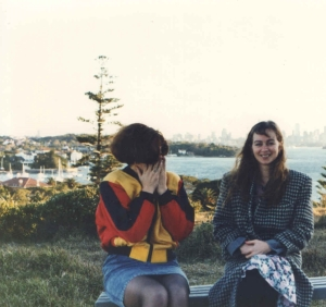 Sonia and me, Watson's Bay Sydney