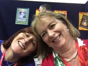 Keri Arthur and Donna Hanson